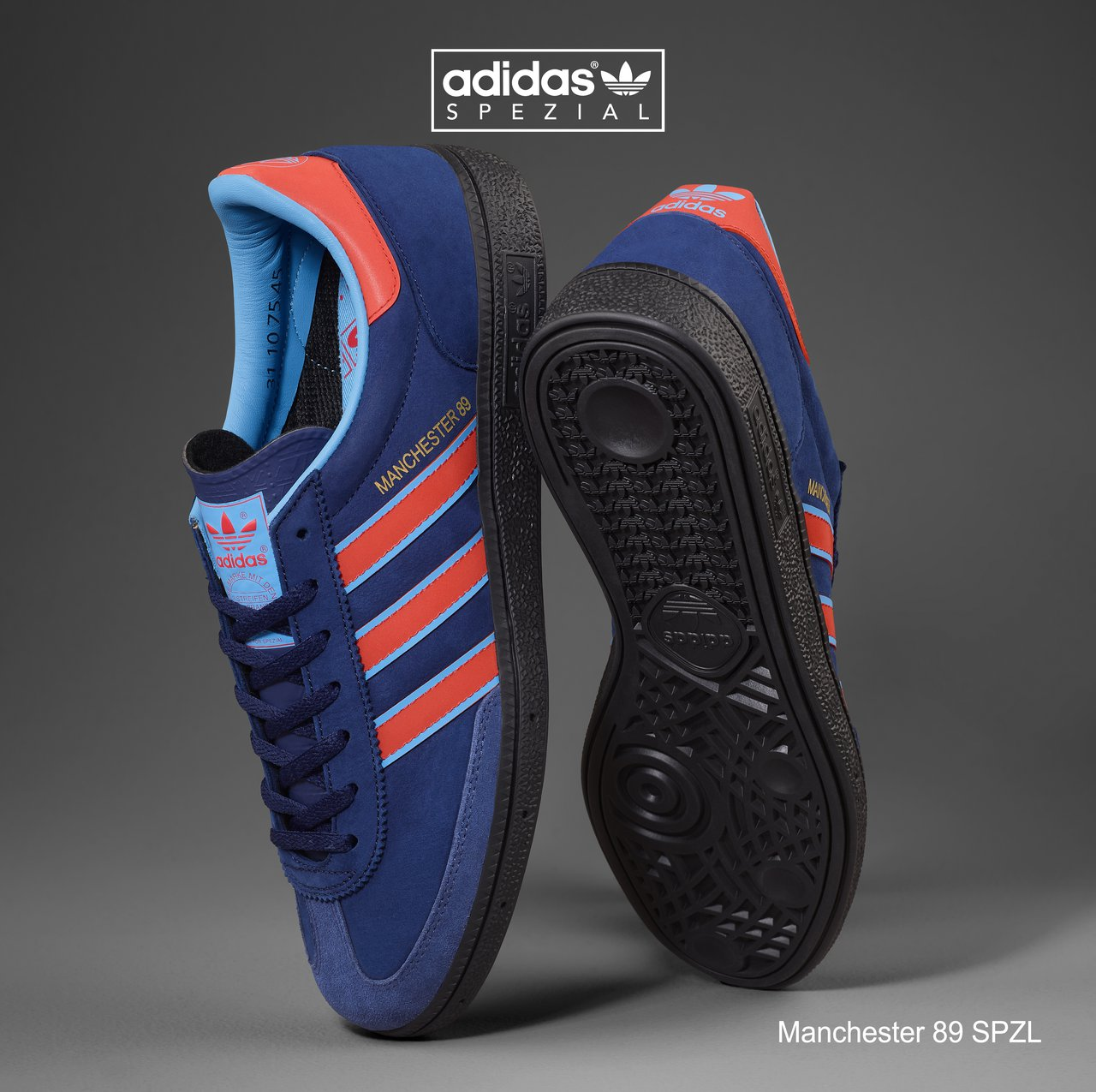 Adidas SPEZIAL Returns to Launch the Manchester 89 SPZL Trainer ...