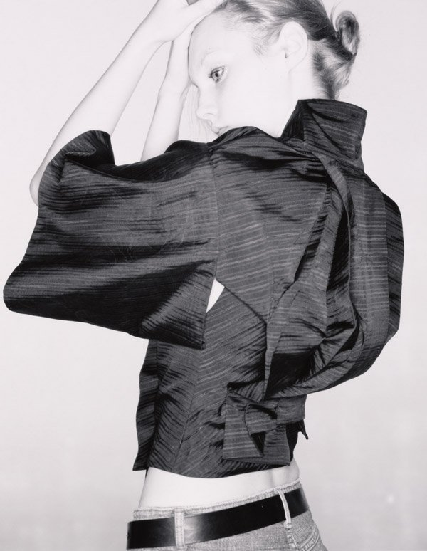 SHOWstudio Alexander McQueen kimono jacket photographed by Nick Knight